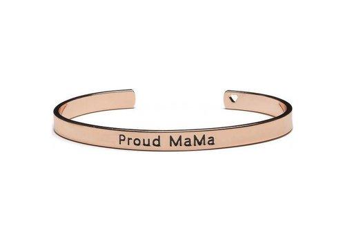 Proud Mama Proud  Mama Armband Roze