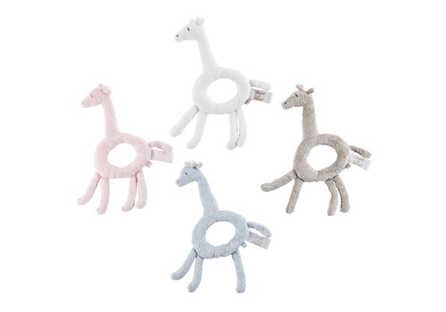 Theophile & Patachou Theophile & Patachou Rattle Giraffe White