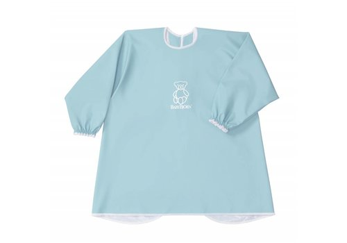BabyBjörn Babybjorn Long Sleeve Bib Turquoise