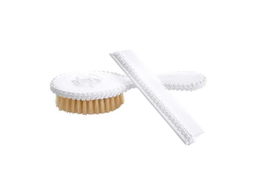 Theophile & Patachou Théophile & Patachou Brush + Comb Cover White Cotton