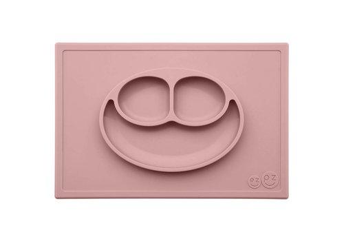 EZPZ EZPZ Placemat + Plate Happy Mat Blush