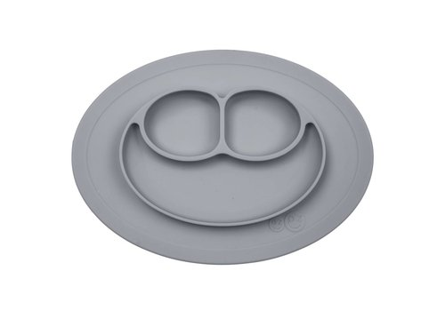 EZPZ EZPZ Placemat + Plate Mini Mat Grey