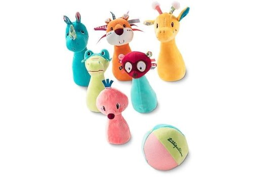 Lilliputiens Lilliputiens Jungle Bowling Ball Game
