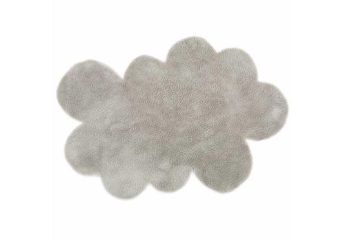 Pilepoil Pilepoil Tapijt Grote Wolk 140 x 200 cm Grijs Clair