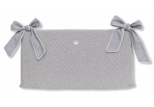 My First Collection First Bed Bumper Ripley Grey