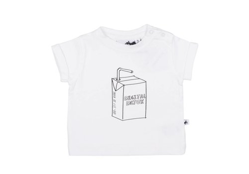 Cos I Said So Cos I Said So T-Shirt Korte Mouwen Digital Detox Wit