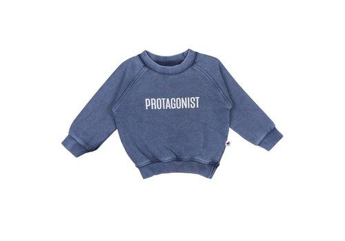 Cos I Said So Cos I Said So Sweater Protagonist Washed Blue