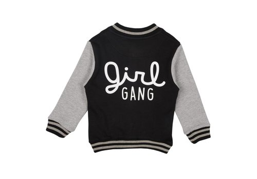 Cos I Said So Cos I Said So Jacket Baseball Girl Gang Zwart