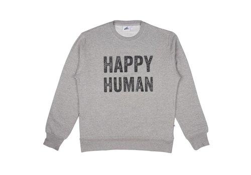 Cos I Said So Cos I Said So Sweater Adult Men Happy Human Grijs