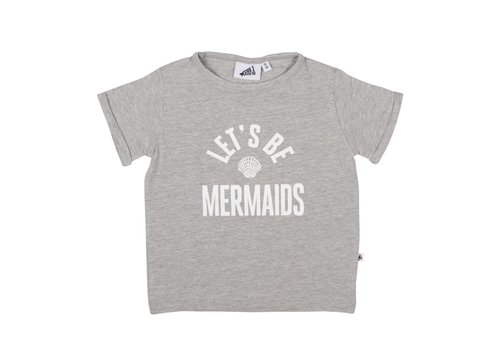 Cos I Said So Cos I Said So T-Shirt Mermaids Grey
