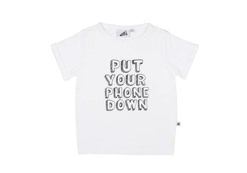 Cos I Said So Cos I Said So T-Shirt Phone Down White