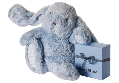 Tartine Et Chocolat Tartine Et Chocolat Soft Toy Rabbit Augustin 35 cm Blue