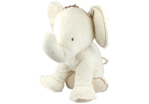 Tartine Et Chocolat Tartine Et Chocolat Cuddly Toy Elephant 35 cm Off-white