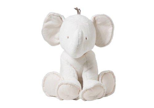 Tartine Et Chocolat Tartine Et Chocolat Cuddly Toy Elephant 25 cm Off-white