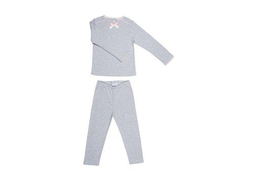 Cotolini Cotolini Pyjamas Chloe Grey - Pink
