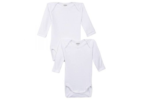 Absorba Absorba Bodysuit 2 Pieces Long Sleeves White