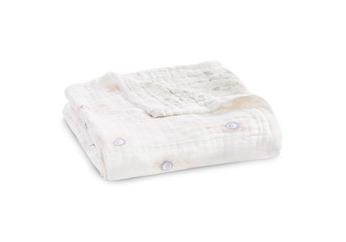 Aden & Anais Aden & Anais Droomdeken Silky Soft Featherlight Dainty Plume