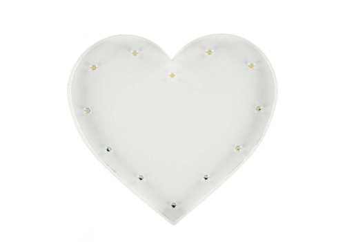 Sweetlights Sweetlights Heart 20 cm White