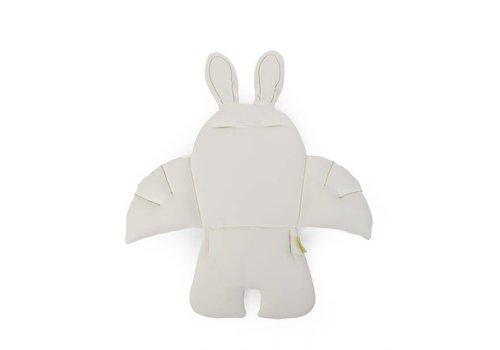 Childhome Childhome Rabbit Stoelkussen Jersey Wit
