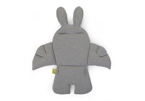 Childhome Childhome Rabbit Stoelkussen Jersey Grijs