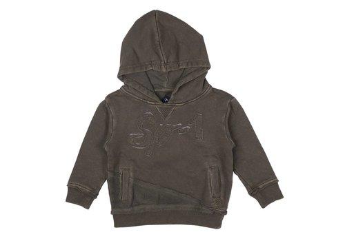 SP1 Sp1 Sweater Met Kap Kaki