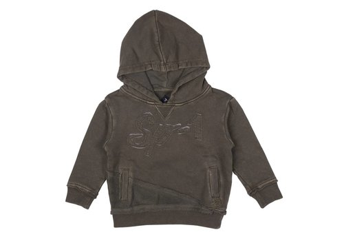 SP1 Sp1 Sweater With Hood Kaki