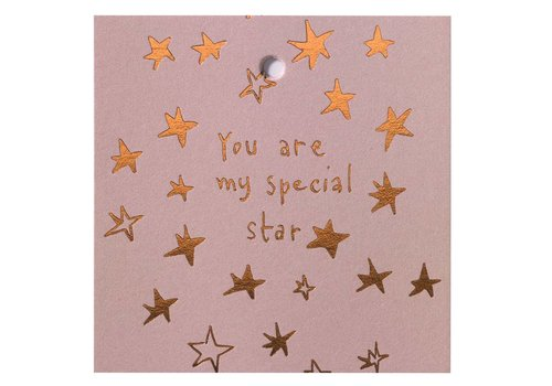Papette Papette Minikaartje 'You Are My Special Star'