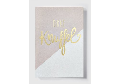 Papette Papette Greeting Card 'Dikke Knuffel'