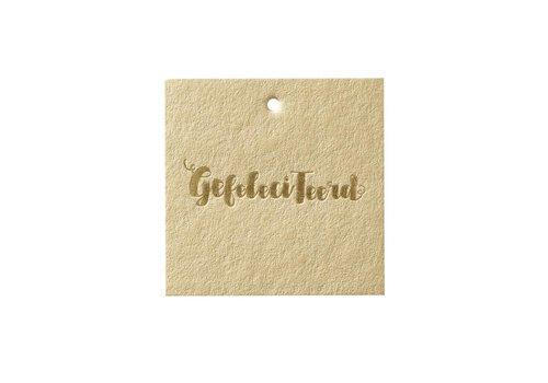 Papette Papette Greeting Card 'Gefeliciteerd'