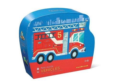 Bertoy Bertoy Shaped Puzzle - Vehicles 36 Pieces