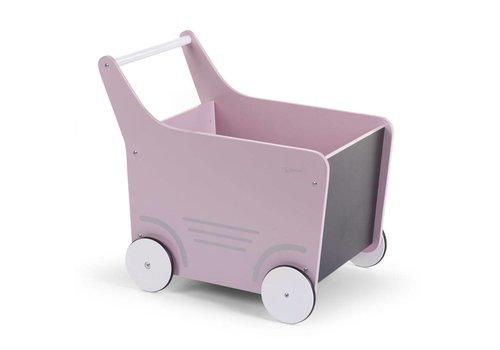 Childhome Childhome Houten Wandelwagen Roze