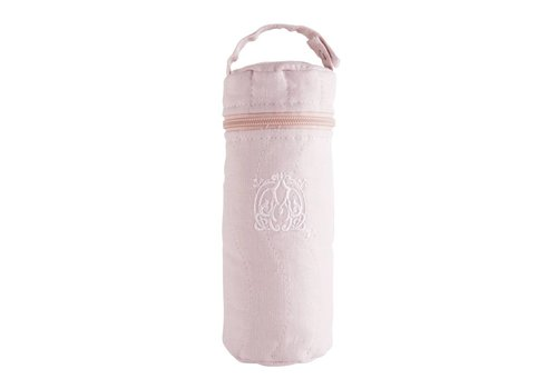 Theophile & Patachou Theophile & Patachou Cover Feeding Bottle - Quilted Blush Pink