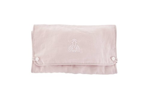 Theophile & Patachou Theophile & Patachou Travel Changing Pad - Linen Blush Pink