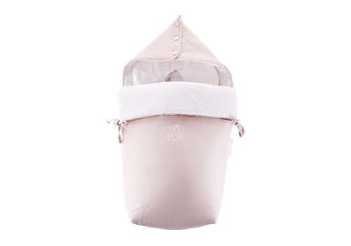"Theophile & Patachou Theophile & Patachou Footmuff For Maxi-Cosi ""Pebble"" - Linen Blush Pink"