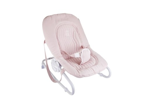 Theophile & Patachou Theophile & Patachou Baby Seat - Quilted Blush Pink
