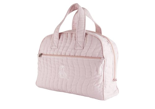 Theophile & Patachou Theophile & Patachou Travel-Toilet Bag - Quilted Blush Pink