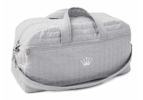 My First Collection First Nursery Bag XXL Delfi + Mat Chambray Grey 55x20