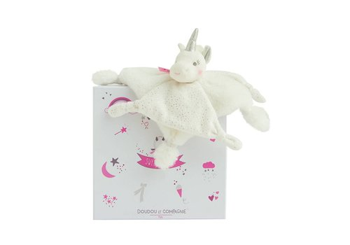 Histoire D'Ours Histoire D'Ours Cuddle Cloth Unicorn Silver