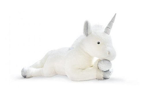 Histoire D'Ours Histoire D'Ours Unicorn Silver 100cm