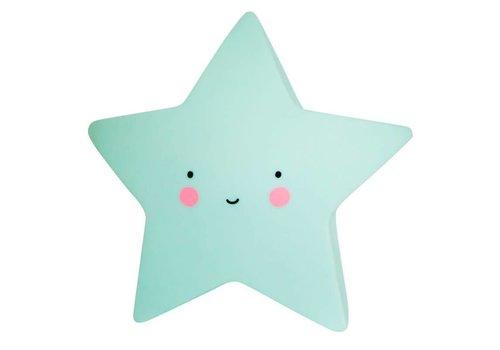A Little Lovely Company A Little Lovely Company Night Light Star Pink