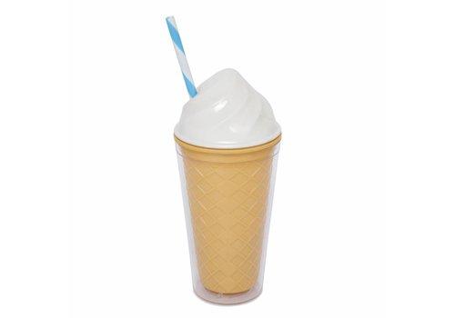 Sunnylife Sunnylife Drinking Cup Ice Cream White