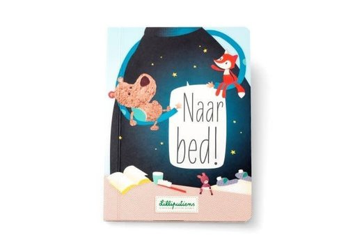 "Lilliputiens Lilliputiens Sensation Book ""To Bed"" NL"