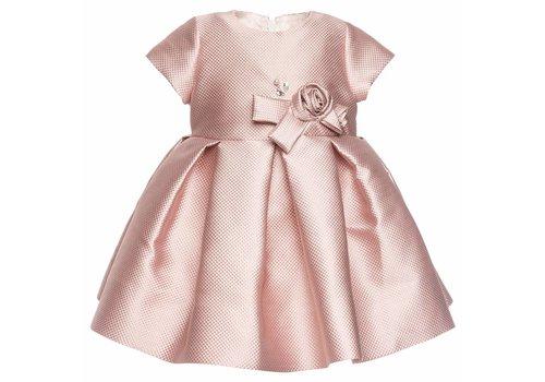 Monnalisa Monnalisa Dress Jaquard Glitter