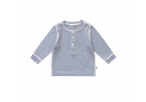 Il Gufo Il Gufo T-Shirt Blauw Strepen