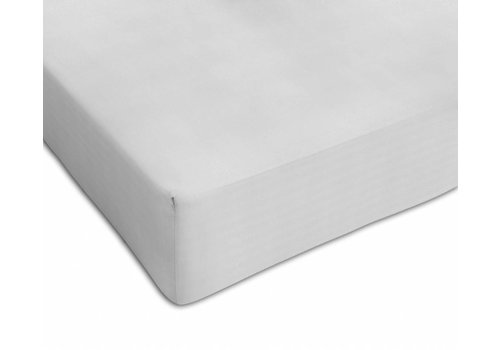 Mythos Mythos Fitted Sheet Tencell 70 x 140 White