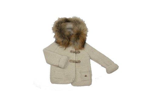 Casilda Y Jimena Casilda Y Jimena Coat With Hood Beige