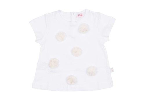 Il Gufo Il Gufo T-Shirt White - Gold