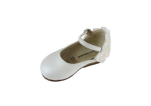 Babywalker Ballerina Ecru Roosjes