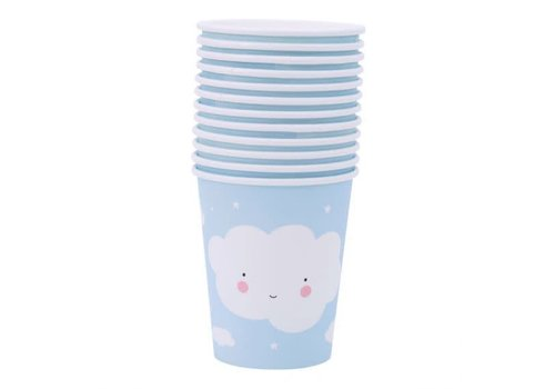 A Little Lovely Company A Little Lovely Company Paper Cups Cloud