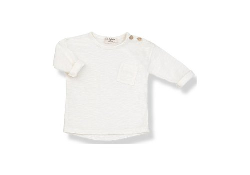 1+ In The Family 1+ In The Family T-Shirt Long Sleeve Jasper Ecru